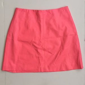 Cameo by Nasty Gal neon pink faux leather skirt